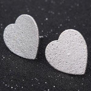 Jewelry - Silver Heart Stud Earrings
